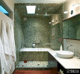 现代卫生间瓷砖设计图片
