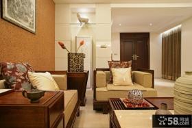 中式风格客厅吊顶灯装修效果图