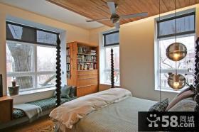 15万打造华美东南亚风格卧室飘窗装修效果图大全2012图片