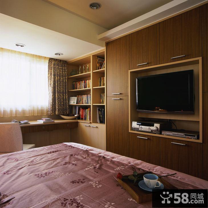 客厅电视柜背景墙效果图