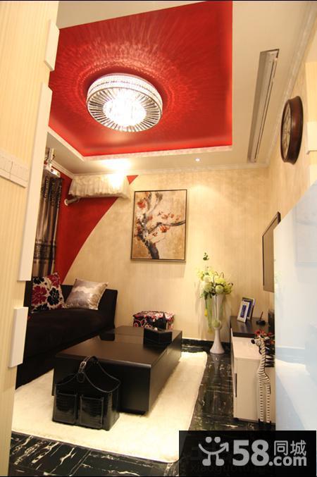 现代风格小户型客厅吊顶效果图欣赏