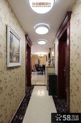 美式客厅瓷砖电视背景墙效果图欣赏
