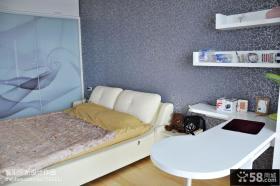 小户型卧室精美壁纸图片
