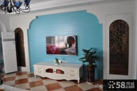 卧室电视背景墙装修效果图大全2013图片