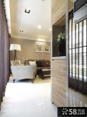 美式简约风格两室一厅装修图片