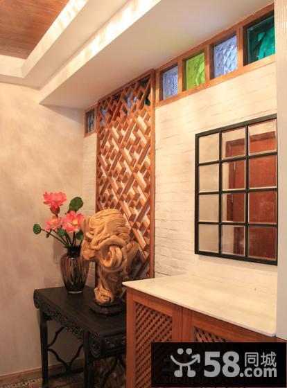 东南亚风格玄关时尚装饰效果图