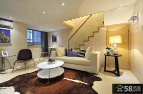 现代创意风格客厅茶几效果图欣赏