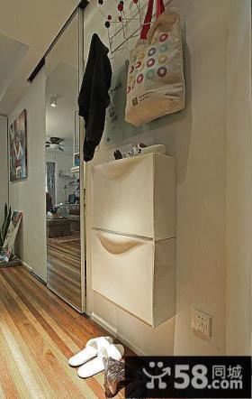 家庭进门玄关鞋柜装修图片