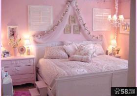 紫色梦幻欧式女儿童房装修图片