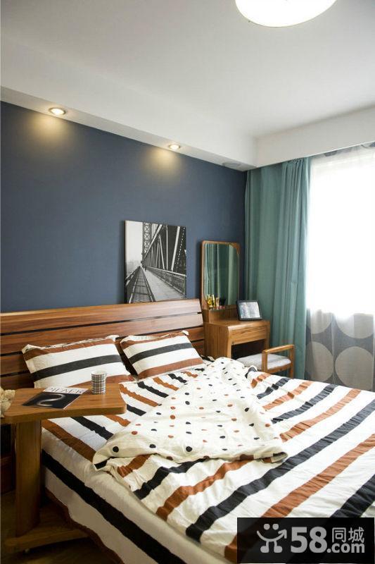 卧室灯压床图片欣赏