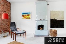 70平米简约小户型客厅装修效果图大全2014图片