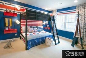 混搭风格室内儿童房设计图