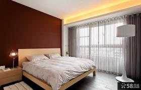 现代设计风格卧室效果图