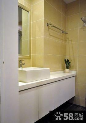 现代卫生间储物柜图片