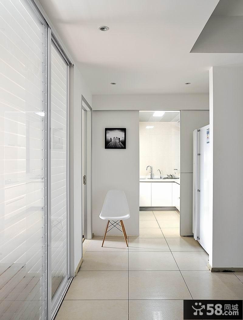 现代简约一居室风格餐厅装修效果图 2014