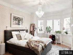 北欧民族风卧室装修展示