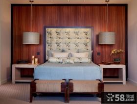 突破传统的中式风格卧室装修效果图