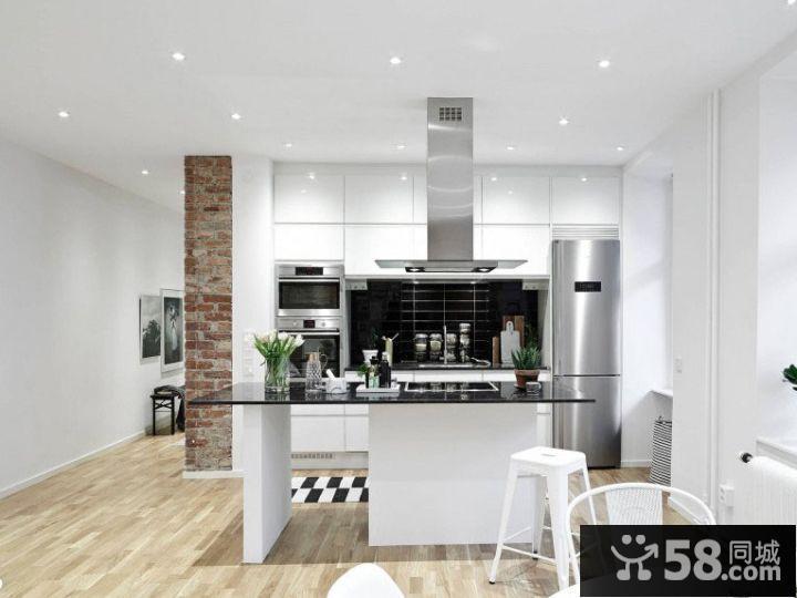 90平米美式装修风格样板房