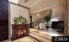 古典高贵欧式家装玄关