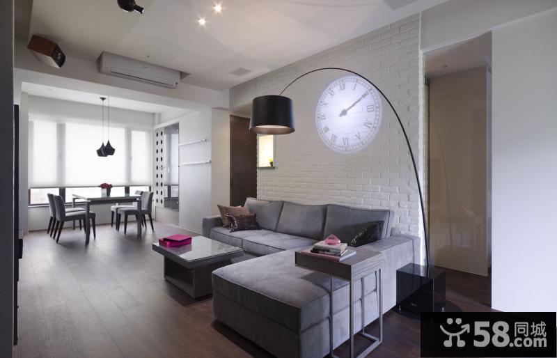 新中式风格客厅吊顶