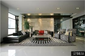 现代简约沙发装修效果图