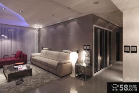 现代优雅家居两居室装修