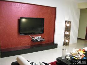 现代风格电视背景墙图片