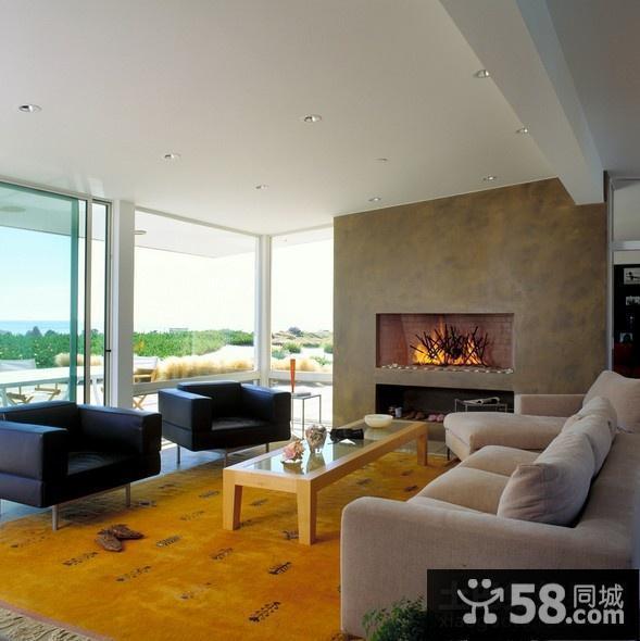 美式现代风格装修客厅
