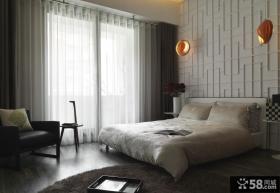 时尚简中式卧室装饰