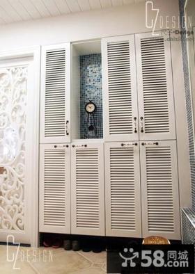 玄关鞋柜时尚装饰图片