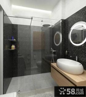 简约式卫生间设计效果图