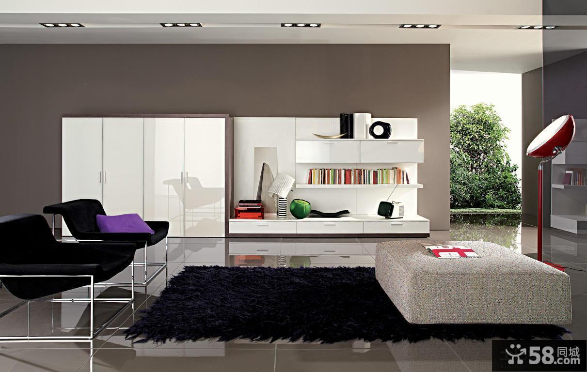 现代家居客厅装修图片大全