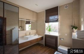 现代家装设计卫生间效果图大全