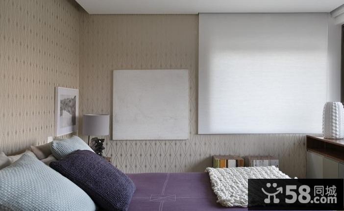 现代简约客厅飘窗装修图片