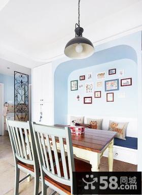 餐厅照片背景墙效果图片