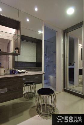 家装小户型卫生间欣赏