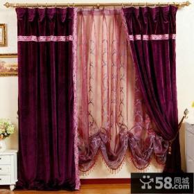 家居卧室窗帘效果图片