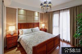 美式家庭卧室装修图片大全
