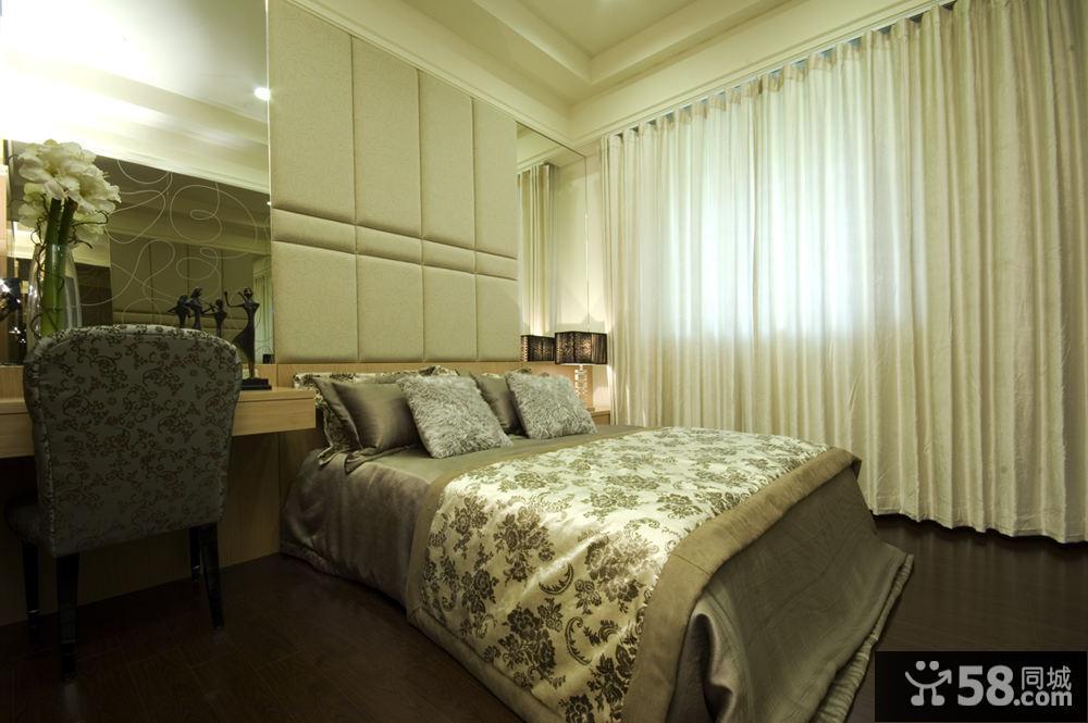 卧室壁纸装饰图片