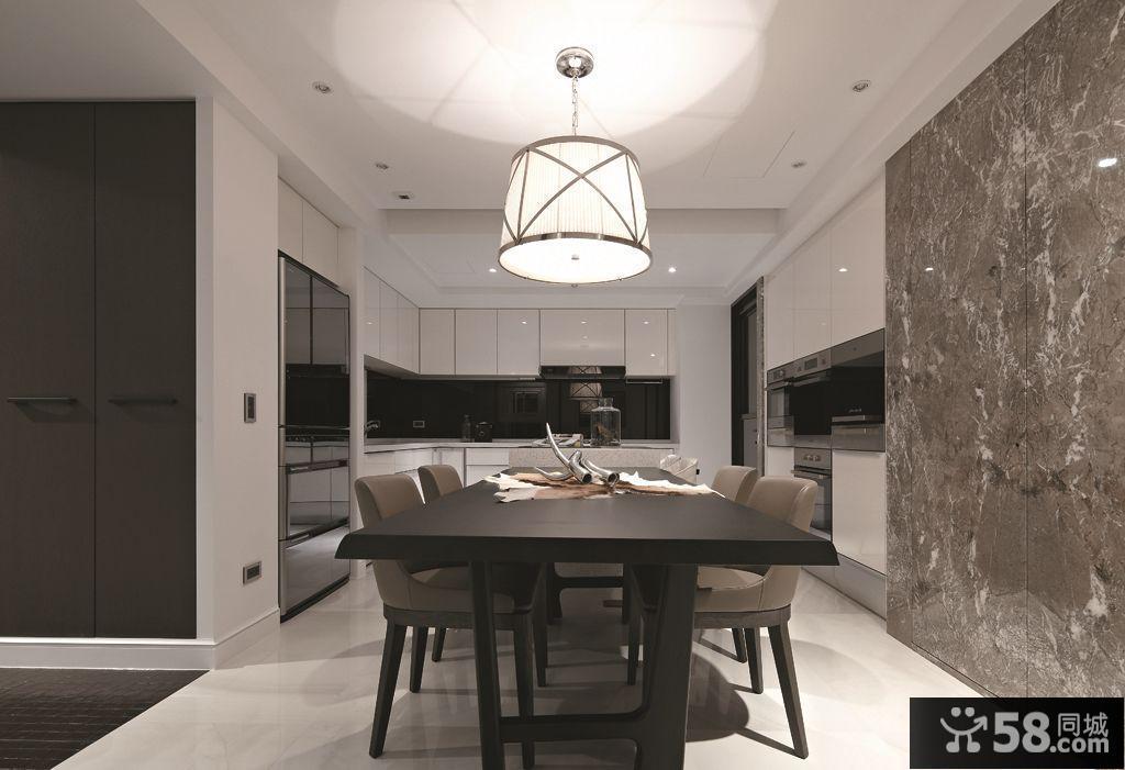 现代风格一居室设计图片