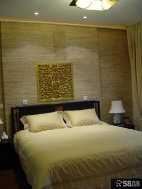 新中式装修效果图卧室