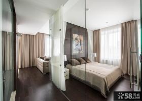 60平优雅现代公寓装修案例