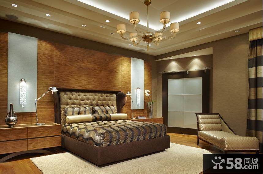 水晶吊灯卧室图片欣赏