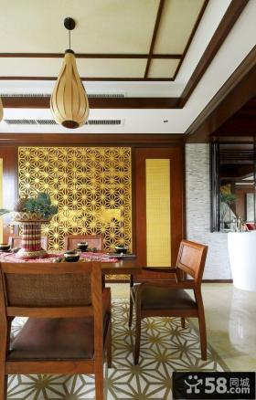 东南亚风格餐厅设计欣赏大全