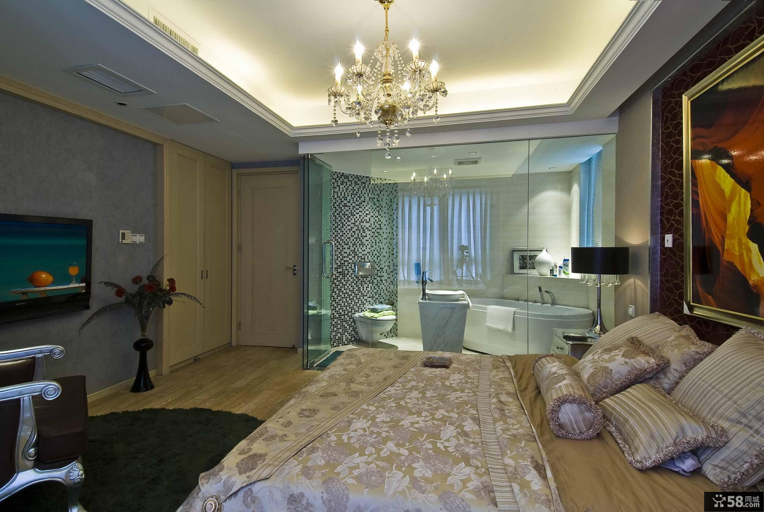 长方形卧室灯图片欣赏