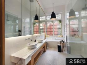 宜家设计室内卫生间图片欣赏