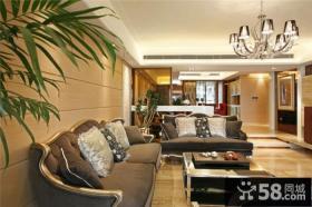 古典美式设计三室两厅大全