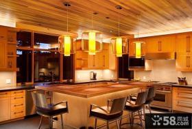 三室两厅美式典雅客厅装修效果图大全2012图片