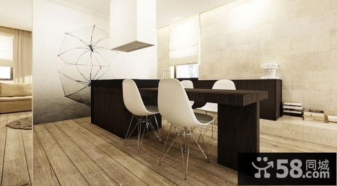 长方形客厅餐厅设计