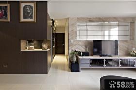 现代三居室装修